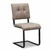 17 Stories Fawn Side Chair Upholstery Color Taupe