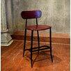 17 Stories Fortunata 26 Bar Stool Upholstery Burgundy