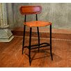 17 Stories Fortunata 26 Bar Stool Upholstery Apricot
