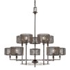 17 Stories Falite 10 Light Shaded Chandelier
