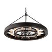 17 Stories Cheval 12 Light Drum Chandelier