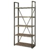 17 Stories Chelsey Etagere Bookcase