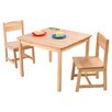 KidKraft Aspen Kids 3 Piece Table and Chair Set - Children's Tables and Sets Kids Furniture