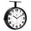 13 Dual Dial Wall Clock