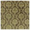 Southampton Brown Geometric Wool Hand-Tufted Area Rug Astoria Grand : image
