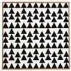 East Urban Home Triangles Black Framed Graphic Art - East Urban Home Wall Art