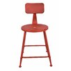 Ernest Side Chair Upholstery: Red