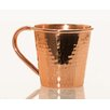 12 oz Moscow Mule Mug with Copper Handle