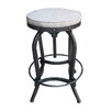 17 Stories Gustavo Adjustable Height Swivel Bar Stool