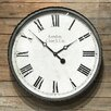 18 Round Metal Wall Clock