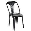 17 Stories Dhruv Tolix Dining Chair Color Black