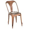 17 Stories Dhruv Tolix Dining Chair Color Bronze