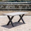 17 Stories Advika Outdoor 7 Piece Dining Set with Cushions