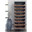 17 Stories Dingler Teak Bar with Wine Storage