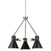 17 Stories Alton 3 Light Modern Shaded Chandelier