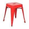 17 Stories Crisler Dining Chair Color Red