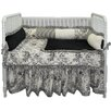 Girls Crib Bedding Set Toile 9