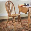 Threshers Too Small Bow Back Side Chair Distressed Antique Oak 178 2447
