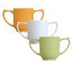 Dignity Two Handled Mug In White