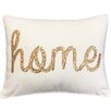 Home Sequin Lumbar Pillow Color: Egret Gold