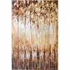 Revealed Artwork Serene Original Painting on Wrapped Canvas Size: 47