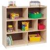 Tall Three Shelf Mobile Storage Unit 232 12265