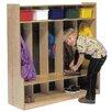 Five Section Locker SeatStep 217 12246
