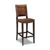 Green Valley Leather Barstool Seat Height