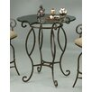 Capri Glass Pub Table Autumn Rust 407 - 2716