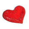 Mamma Ro 9 Heart Plate In Cotto