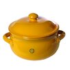 Mamma Ro 16 Oz. Onion Soup Casserole With Lid Color-red