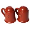 Mamma Ro Salt And Pepper Shaker Set In Cotto