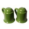 Mamma Ro Salt And Pepper Shaker Set In Apple