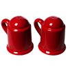 Mamma Ro Salt And Pepper Shaker Set In Red