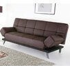 Abbyson Living Plush Leather Convertible Sofa - Sofa and Chair Shop