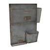 15 x 195 x 4 Wall Metal Storage Shelf