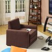 Dorel Home Products Single Sleeper Chair in Chocolate - Sofa and Chair Shop