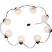 Mesh Lantern String Lights Finish: Textured White