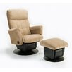 Chicago Glider Closed Base and Ottoman 529 46