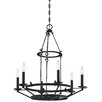 Kingsgate Kona 6 Light Candle Chandelier