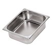 Stainless Steel Hotel Pan - 1/3 In Silver Size-7.88 H