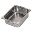 Hotel Pan With Retractable Handles - 1/3 In Silver Size-4 H
