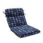 Anchor Allover Outdoor Dining Chair Cushion