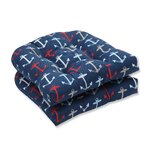 Anchor Allover Outdoor Dining Chair Cushion