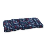 Anchor Allover Outdoor Love Seat Cushion