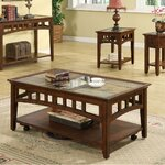 Andorra Coffee Table Finish: Eden Burnished Cherry