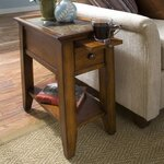 Andorra End Table Finish: Eden Burnished Cherry