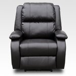 Bonded Leather Reclining Massage Chair