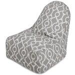 Athens Bean Bag Chair Color: Gray