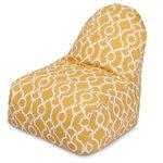 Athens Bean Bag Chair Color: Citrus